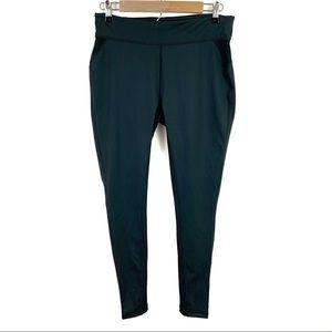 NWOT Airism Uniqlo Leggings XL Green